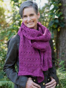 Knitting Eyelet 300 Burgandy