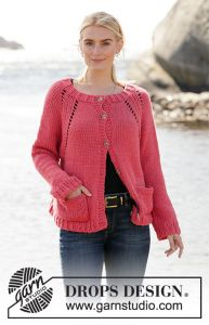 Frozen Cranberries Cardigan