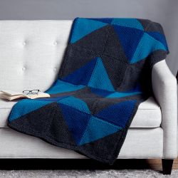 Graphic Chevron Blanket