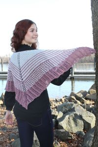 Tussah Kissed Shawl