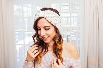 Traveling Vine Ear Warmer Knit
