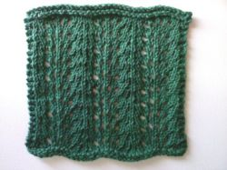 Agave Rows Washcloth