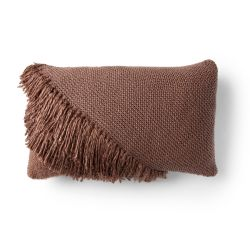 Fringed Lumbar Pillow
