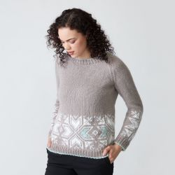 Graphic Snowflake Sweater