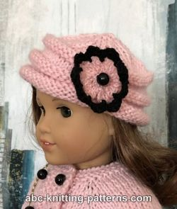 American Girl Doll Vintage Pillbox Hat
