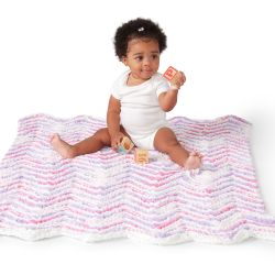 Mini Stripes Baby Blanket