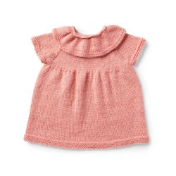 Ruffle Collar Baby Dress