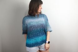 Ocean Meets Sky Sweater