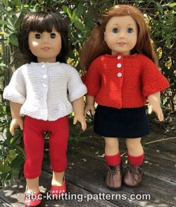 American Girl Doll Peplum Jacket