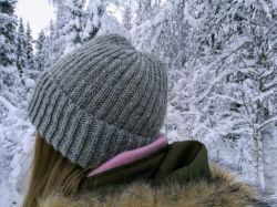 A basic brioche hat
