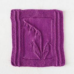 Bellflower Dishcloth
