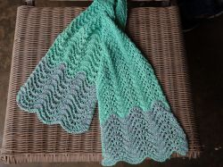 DecoWaves Eyelet Scarf