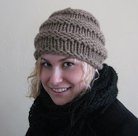 New Quick and Easy Ribbed Hat