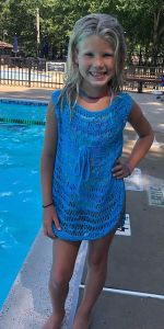 Aqua Swimsuit Cover-Up