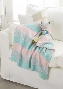 Bobbin Textured Stripes Blanket