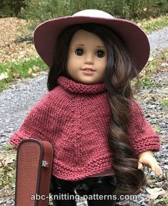 American Girl Doll Wild West Poncho