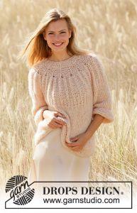 W139 Knitting Pattern Pour Femmes Pull-Multi taille motif