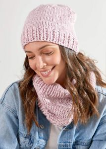Chunky Hat and Cowl