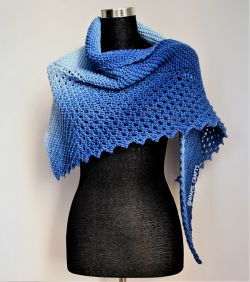 Wiam's Crafts Walk Through The Sky Shawlette