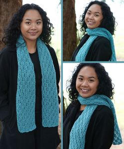 Flowing Lace Scarf