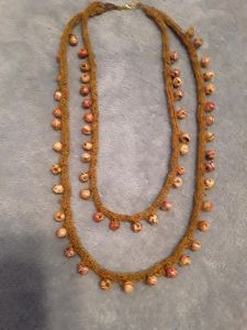 Simple Beaded I Cord