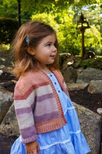 Hot Cakes Baby Cardigan
