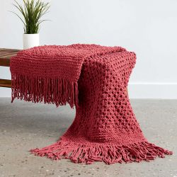 Bramble Stitch Blanket