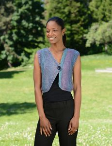 Sideways Asymmetrical Vest