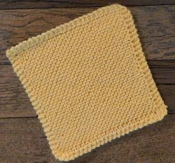 Vanilla Dishcloth