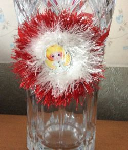 Christmas Vase Decoration