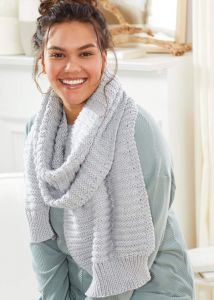 Alternating Welt Scarf