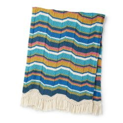 Patons Digital Chevron Blanket