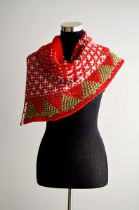 Christmas Snow Shawl