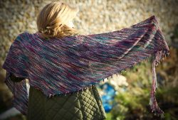 The Walled Garden Shawl