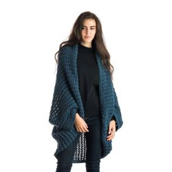 Comfy Easy Eyelet Stitch Cocoon