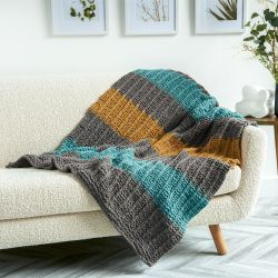 Soothing Slip Stitches Blanket