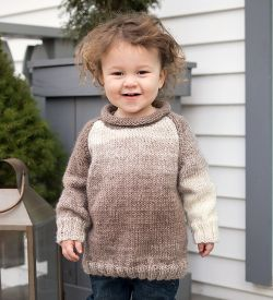 Easy Toddler Raglan Sweater