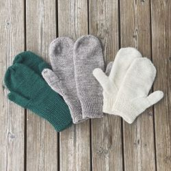 No swatch, any yarn mittens