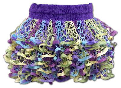 Knitting Patterns Galore Starbella Ruffle Skirt