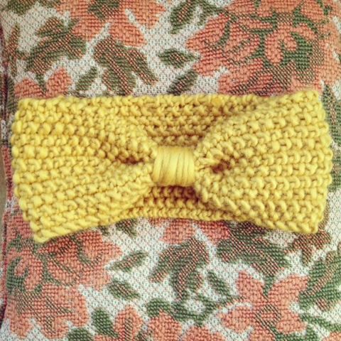 Free Knitting Pattern For Ear Warmer Very Simple Free Knitting