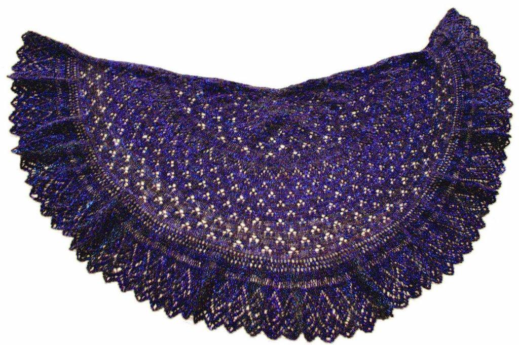 Knitting Patterns Galore - Katy Shawl