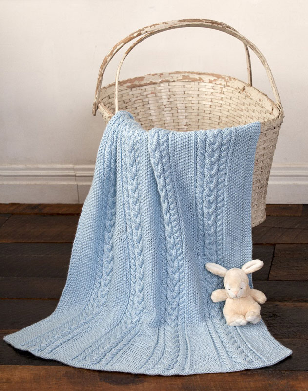 Free Knitted Cup Cozy Pattern : Knitting Patterns Galore - Little Boy Blue Baby Blanket