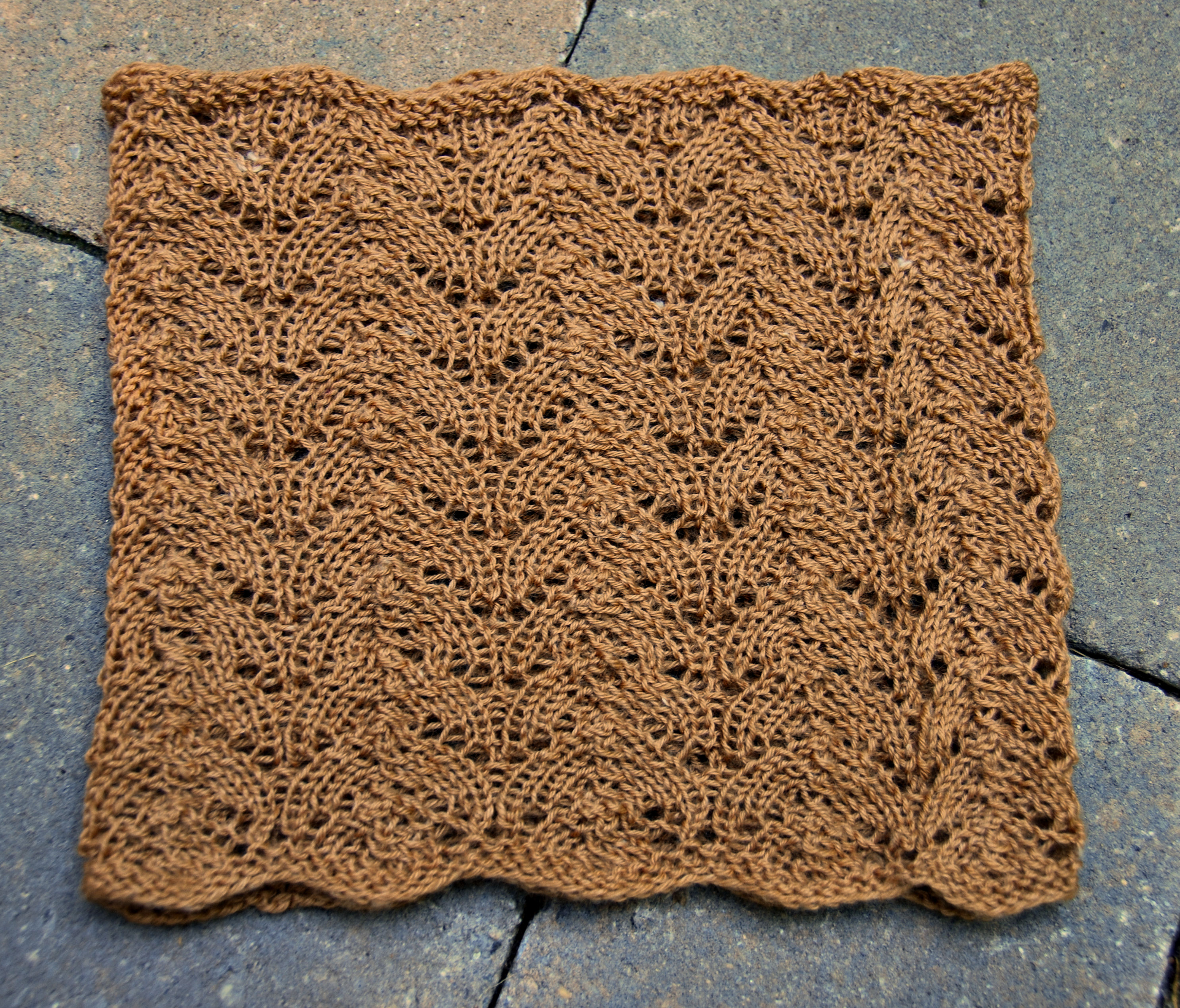 Knitting Patterns Galore - Good Luck Cowl