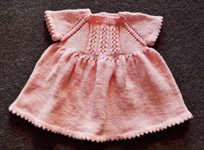 Knitting Patterns Galore - Little Girl Dress
