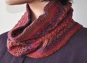 Free Knitting Pattern For Eyelet Cowl : Knitting Patterns Galore - Eyelet Vine Cowl