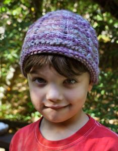 Cabled Child's Hat