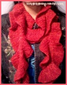 Rustic Potato Chip Scarf