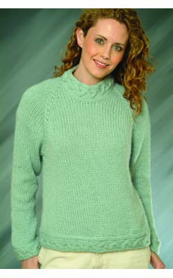 c7bdc5ec1 Knitting Patterns Galore - Top Down Ladies Pullover