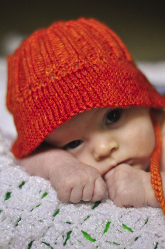 Free Baby Cloche Hat Knitting Pattern