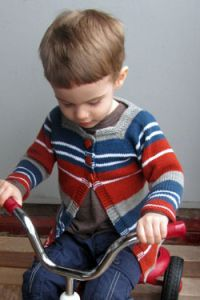 Baby and Toddler Striped Cardigan